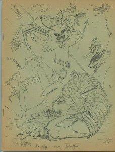 Hippocampelephantocamelos #5 (Hippocamp, Dec. 1966) - Rare Fanzine