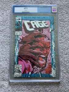 CAGE #6 CGG 9.6 Luke Cage 1992 Dwayne Turner Cover And Art.