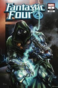 Fantastic Four #1 (2018) Scorpion Comics Variant Edition Clayton Crain Marvel