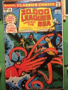 Marvel Classic Comics #4 20,000 Leagues Under The Sea