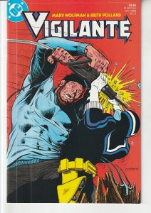 Vigilante(vol. 1) # 2 DC's Answer to The Punisher !