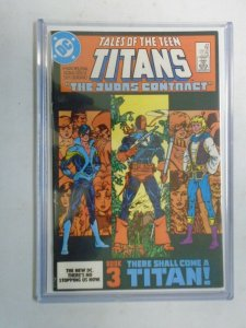 New Teen Titans #44 Judas Contract part 3 7.0 FN VF (1984 1st Series)