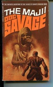 DOC SAVAGE-THE MAJII-#60-ROBESON-G-JAMES BAMA COVER-1ST EDITION G