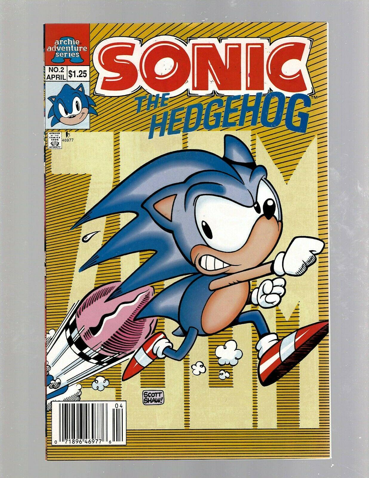 Sonic The Hedgehog 2 Nm Archie Adventure Series Comic Book Knuckles J450 Hipcomic