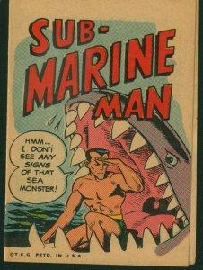 Krazy Little Comics 14 WALLY WOOD, RARE 1967 Topps, Sub-Marine Man B, Roy Thomas