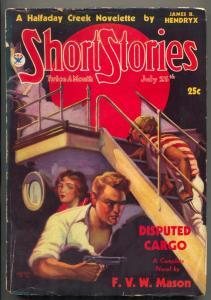 Short Stories Pulp July 25 1934- Disputed Cargo- Halfaday Creek