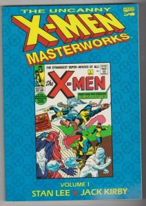 THE UNCANNY X-MEN MASTERWORKS VOL. 1 1993 STAN LEE & JACK KIRBY TBP
