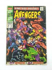 AVENGERS Annual #2 Marvel Comics 1968 Original vs New - Scarlet Centurion