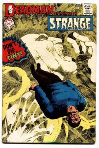 STRANGE ADVENTURES #213 1968 DEADMAN NEAL ADAMS ART FN