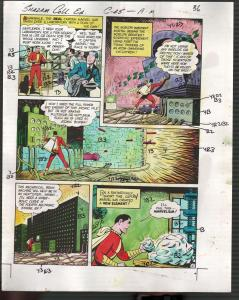 Hand Painted Color Guide-Capt Marvel-Shazam-C35-1975-DC-page 36-VG/FN