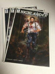Highlander The American Dream 1-3 Nm Near Mint IDW
