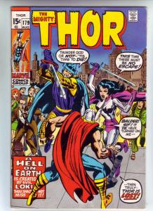 Thor, the Mighty #179 (Aug-70) VF/NM High-Grade Thor