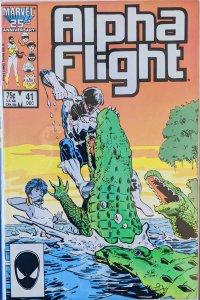 Alpha Flight #41 (1986)
