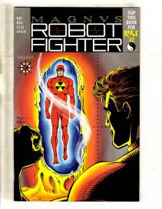 Magnus Robot Fighter # 6 NM W/Cards Valiant Comic Book Pre-Unity JF11