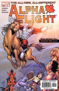 Alpha Flight (3rd Series) #5 VF/NM; Marvel | save on shipping - details inside