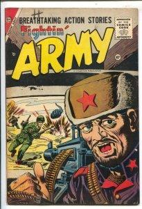 Fightin' Army #18 1956-3rd issue-Korean War stories VF-