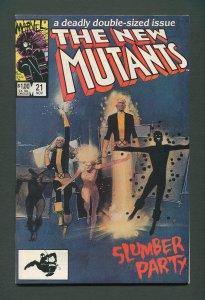 New Mutants #21  / 9.2 NM-  /  November 1984