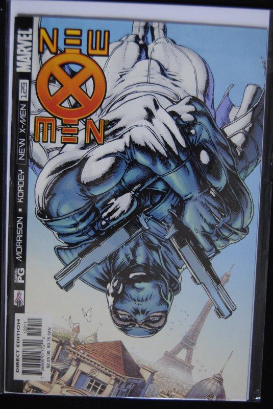 New X-Men 128,129 First Fantomex