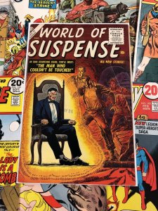 World Of Suspense #3 VG/F 5.0 golden age ATLAS PUBLISHING 10c horror 1956