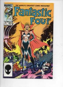 FANTASTIC FOUR #281 VF/NM Hate Monger, Byrne 1961 1985 Marvel, more FF in store