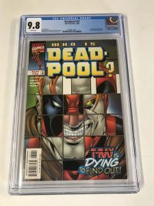 Deadpool (1997 series) #32 CGC 9.8