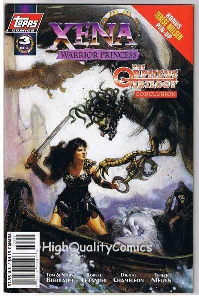 XENA WARRIOR PRINCESS ORPHEUS 3, NM+, Lucy Lawless, 1998, more WW in store