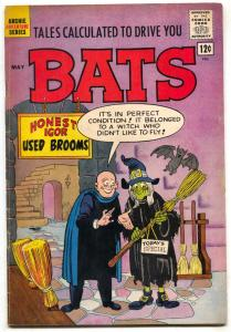 Tales Calculated To Drive You Bats #4 1962- Archie Horror/Humor Witch cover