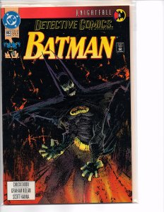 DC Comics Detective Comics #662 Batman; Knightfall Part 8 Sam Kieth Cover