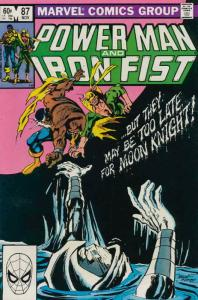 Power Man And Iron Fist #87 FN; Marvel | save on shipping - details inside