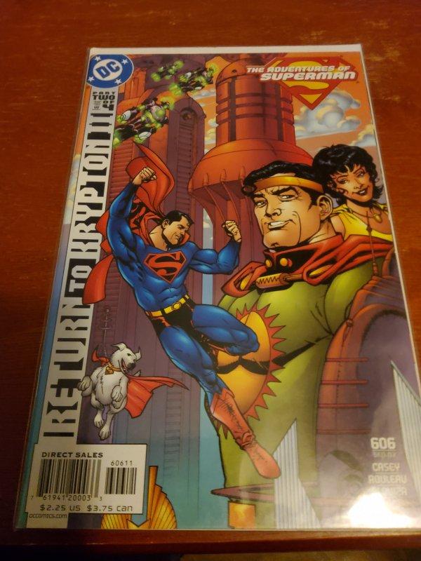 Adventures of Superman #606 (2002)