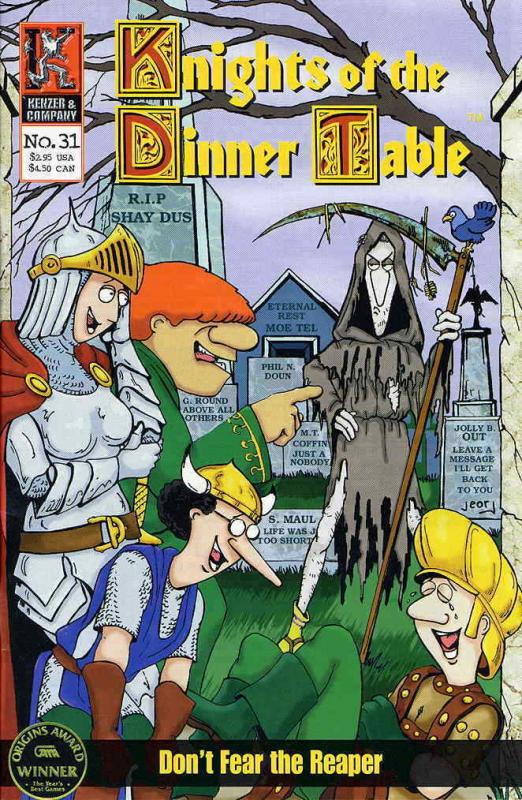 Knights of the Dinner Table #31 VF/NM; Kenzer and Company | save on shipping - d
