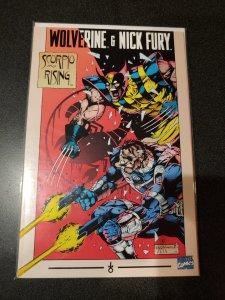 Wolverine & Nick Fury Scorpio Rising 1994 Marvel Comic Book TPB 1st Printing NM
