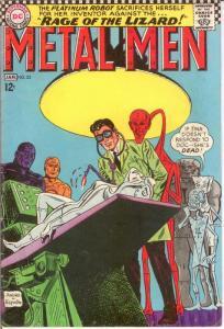 METAL MEN 23 VG-F Jan. 1967 COMICS BOOK