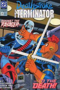 Deathstroke the Terminator #4 VF/NM; DC | save on shipping - details inside