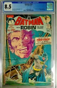 Batman #234 ~ 1971 DC ~ CGC 8.5 (VF+) ~ 1st Silver Age Appearance of Two-Face