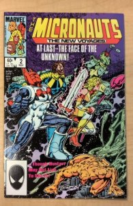 Micronauts: The New Voyages #2 (1984)