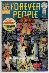 FOREVER PEOPLE #8, FN+, Jack Kirby, Darkseid, Sandman, 1971, 52 pager