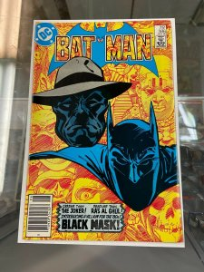 Batman 386 VF (Needs pressed) 1st appearance of Black Mask