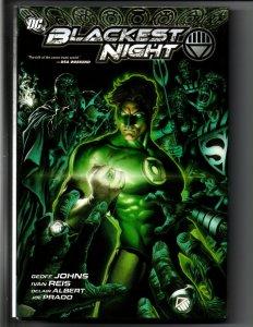 Blackest Night HC - 1st Print - Green Lantern - Johns - Reis - 2010 - NM