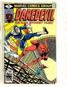 Daredevil # 161 VF/NM Marvel Comic Book Foggy Karen Avengers Defenders Owl GK2