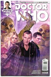 DOCTOR WHO #3 B, NM, 9th, Tardis, 2016, Titan, 1st, more DW in store, Sci-fi