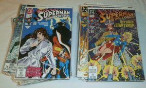 Superman 1992 100% complete Adventures of #486-496, V2 #63-73, Action #673-683 +