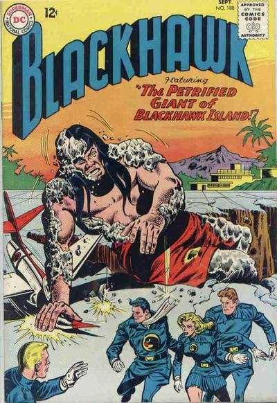 Blackhawk (1944 series) #188, VG- (Stock photo)