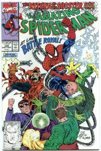AMAZING SPIDER-MAN #338 1990-MARVEL COMICS-near mint NM