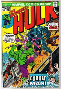 HULK #173, VF, Incredible, Bruce Banner, Colalt Man, 1968, more in store