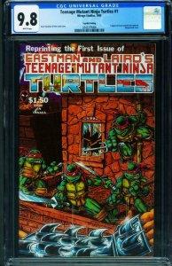 Teenage Mutant Ninja Turtles #1 1985 4th printing CGC 9.8  2042279006