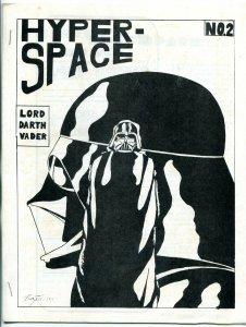 Hyper Space #2 1977-  Early Star Wars Fanzine Fan Fiction VF