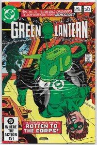 Green Lantern   vol. 2   #154 VF Corps, Barr/Staton, cover: Kane, Medphyl