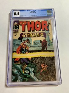 Thor 130 Cgc 8.5 Ow/w Pages Marvel Silver Age