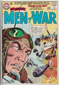 All-American Men of War #107 (Feb-65) FN/VF Mid-High-Grade Lt Steve Savage Ba...